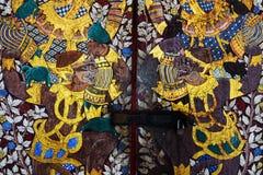 Тайская картина виска Hanuman Стоковая Фотография