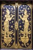 Тайская картина в виске Стоковая Фотография