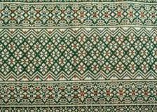 Тайская картина саронга Стоковые Фотографии RF