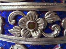 Тайская картина, штукатурка, тайская античная культура Стоковые Изображения RF