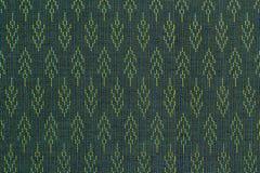 Тайская картина silk ткани Стоковое Изображение