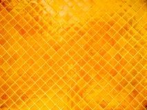 Тайская керамическая плитка стены виска Стоковое Изображение