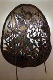 Тайская кожа выставки театра тени Стоковое Фото