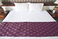 Тайская комната кровати Стоковое Фото