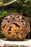 Тайская конструированная ваза Стоковые Фото