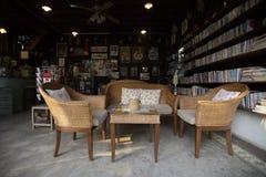 Тайская кофейня стиля Стоковая Фотография RF