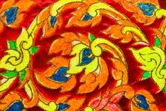 Тайская красочная картина Стоковое Изображение RF
