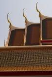 Тайская крыша виска Стоковая Фотография RF