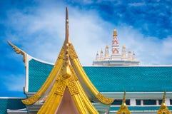 Тайская крыша стиля виска Стоковые Фото