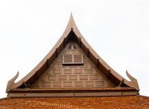 Тайская крыша стиля для дома Стоковые Фото