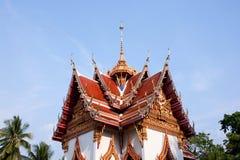 Тайская крыша церков виска Стоковое фото RF