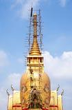 Тайская крыша церков виска Стоковые Фотографии RF