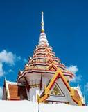 Тайская крыша церков виска Стоковая Фотография