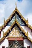 Тайская крыша церков виска Стоковые Изображения RF