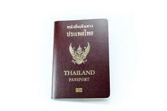 Тайская крышка пасспорта Стоковое Изображение RF