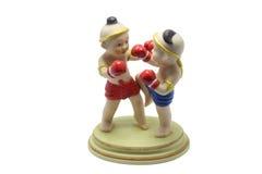 Тайская кукла 2 бокса Стоковые Изображения