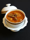 Тайская кухня, карри masaman Стоковое Фото