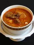 Тайская кухня, карри masaman Стоковое фото RF