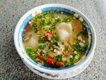 Тайская кухня Том Yum, очень вкусный, пряная стоковые фото