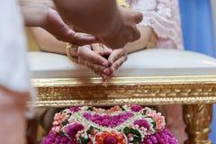 Тайская культура - тайский стиль свадьбы Стоковая Фотография RF