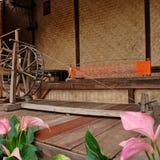 Тайская классическая silk машина Стоковые Фотографии RF