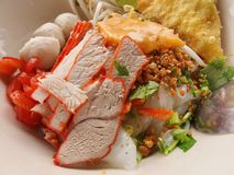 Тайская лапша Стоковая Фотография RF