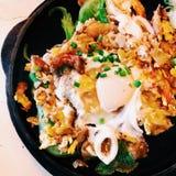 Тайская местная еда Стоковое фото RF