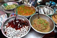Тайская местная еда Стоковое Изображение RF