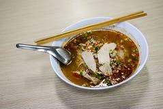 Тайская пряная лапша, Том Yum стоковое фото rf
