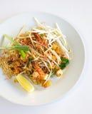 Тайская пусковая площадка еды тайская стоковая фотография rf