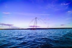 Тайская рыбная ловля стиля Стоковые Фотографии RF