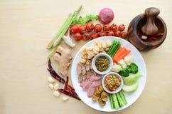 Тайская северная закуска Стоковая Фотография RF