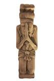 Тайская скульптура девушки для гостеприимсва Sawasdee Таиланда Стоковое Изображение