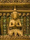 Тайская скульптура угла Стоковая Фотография RF