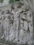 Тайская скульптура фермера Стоковые Изображения RF