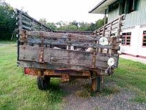 Тайская старая тележка Стоковое Изображение