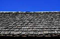 Тайская стародедовская крыша Стоковое Фото