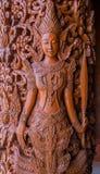 Тайская статуя ангела Стоковые Фотографии RF