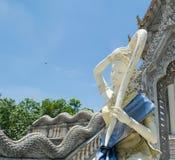 Тайская статуя монаха Стоковое фото RF