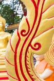 Тайская текстура стиля стоковая фотография rf