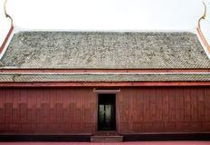 Тайская традиционная крыша дома Стоковая Фотография