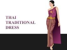Тайская традиционная одежда Стоковое Изображение