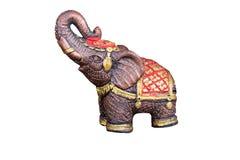 Тайская традиционная статуя слона, диаграмма Стоковое Изображение