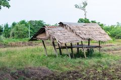 Тайская хата фермера Стоковое Изображение