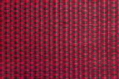 Тайская циновка Red&Black Стоковые Фотографии RF
