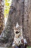 Тайская штукатурка льва стоковые фото