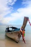 Тайская шлюпка стоковое изображение