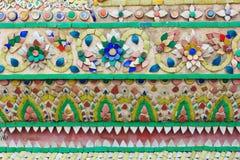 Тайская patern стена Стоковые Фотографии RF