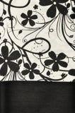 Тайская silk картина мотива. стоковые изображения rf