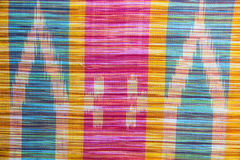 Тайская silk предпосылка Стоковые Фотографии RF